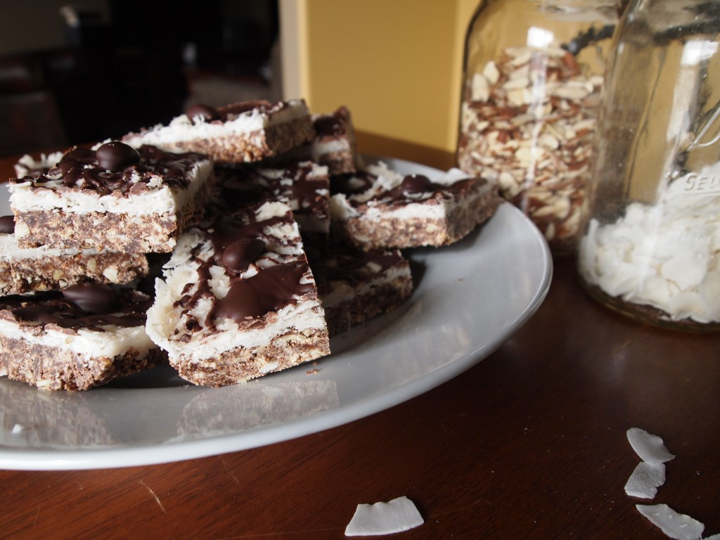 plate of bars